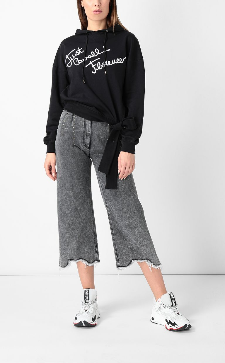 JUST CAVALLI Jeans with wide bottoms Jeans Woman d