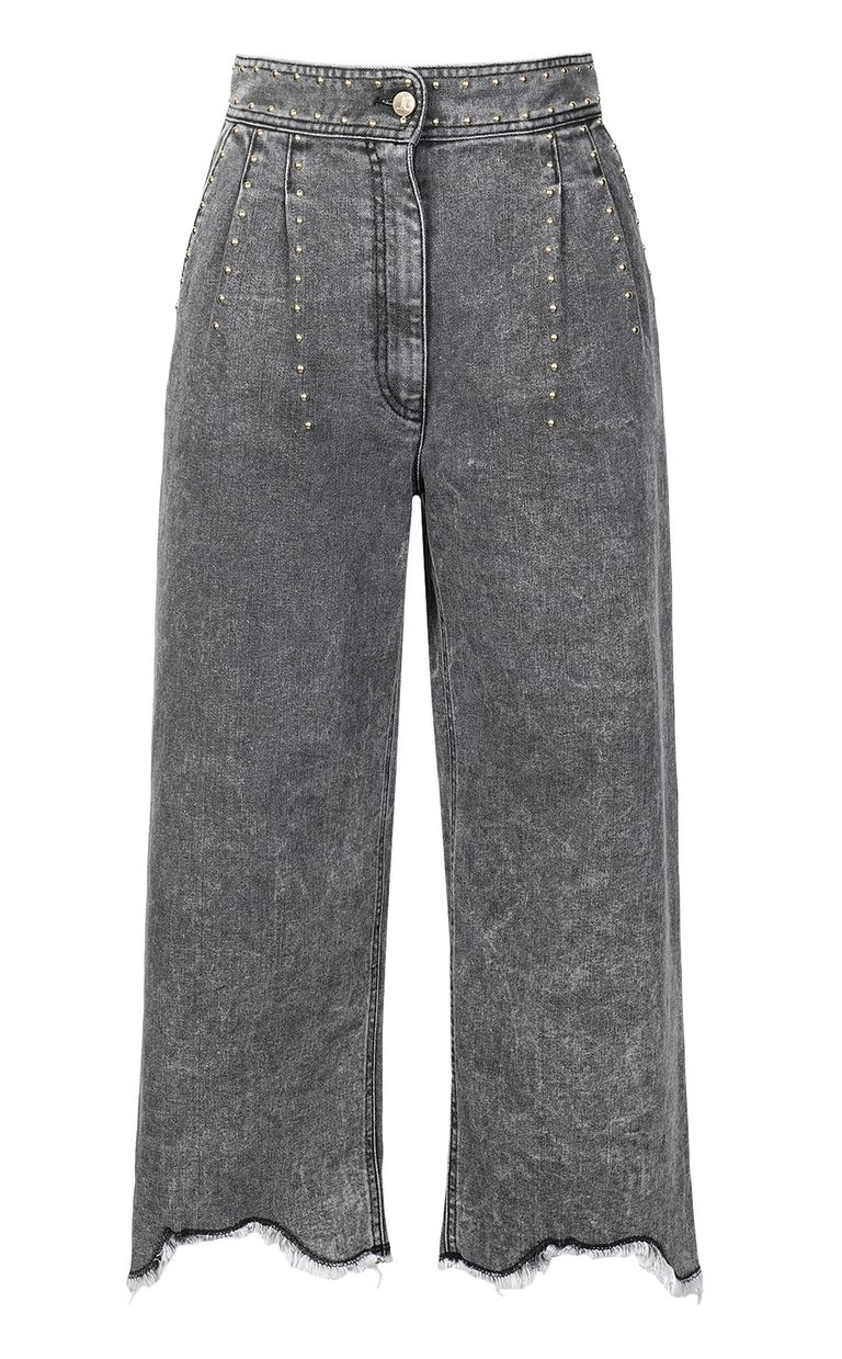 JUST CAVALLI Jeans with wide bottoms Jeans Woman f