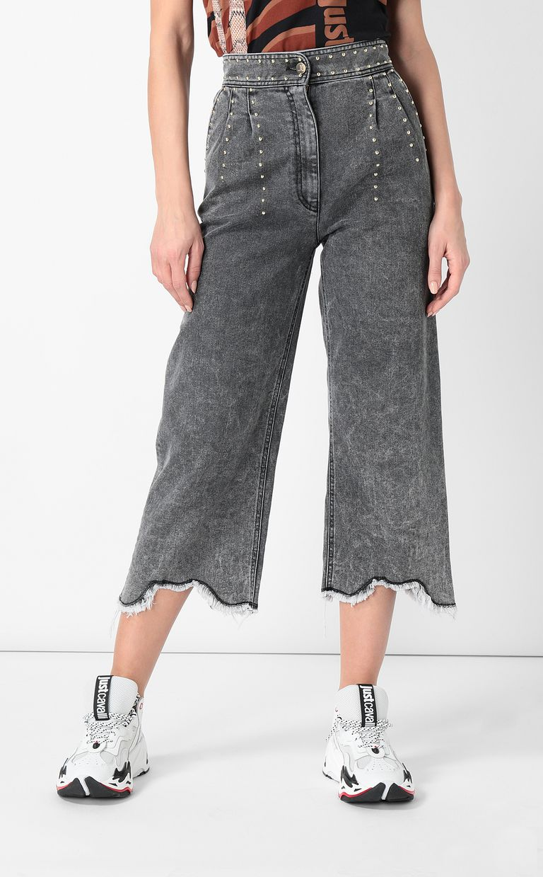 JUST CAVALLI Jeans with wide bottoms Jeans Woman r