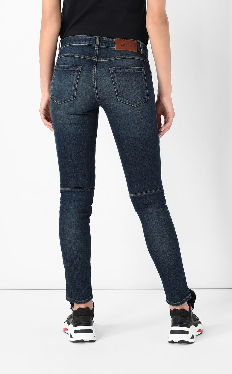 JUST CAVALLI Biker-style jeans Jeans Woman a