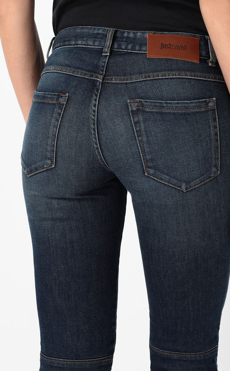 JUST CAVALLI Biker-style jeans Jeans Woman e