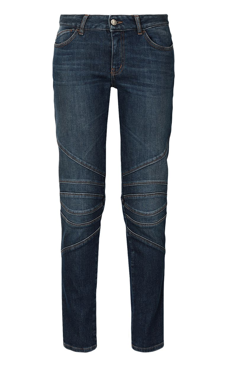 JUST CAVALLI Biker-style jeans Jeans Woman f