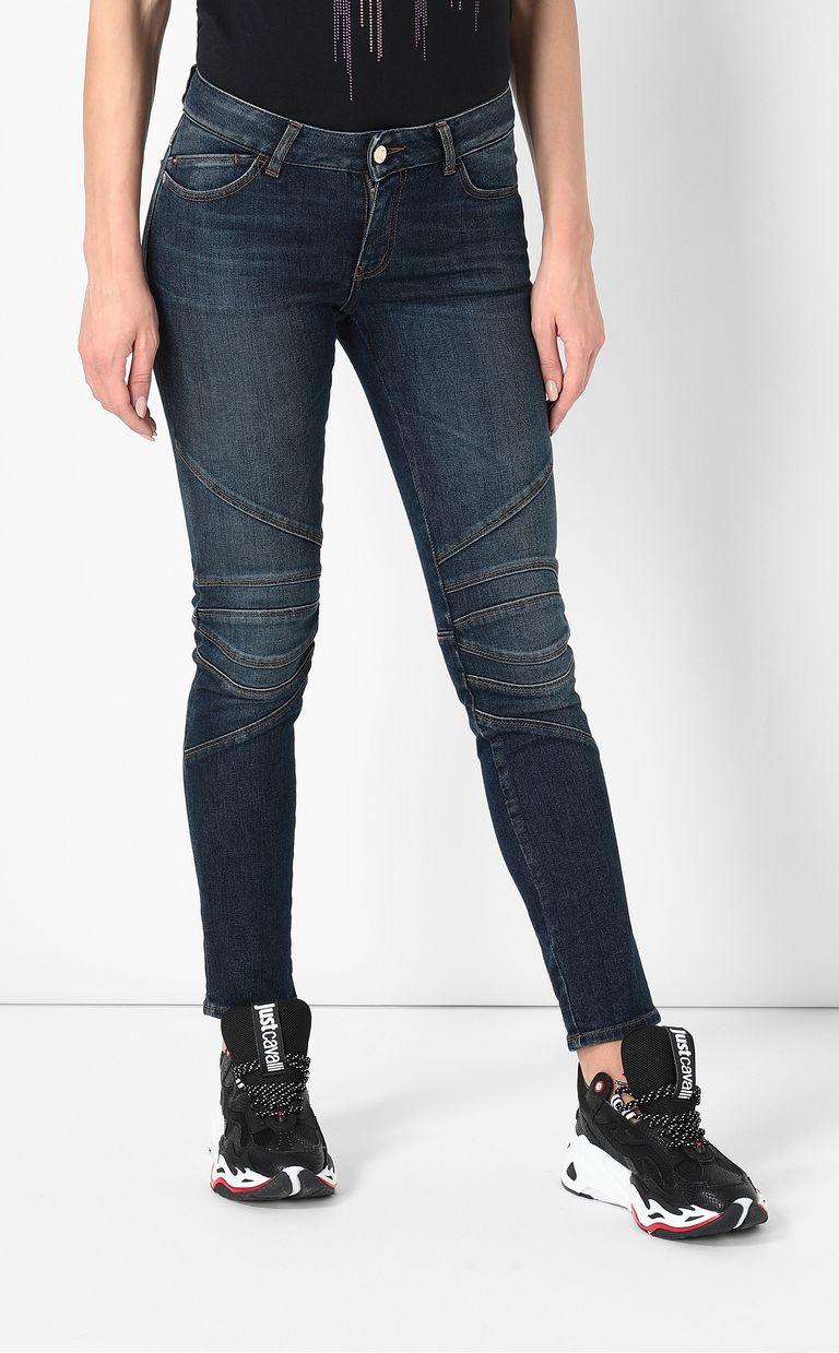 JUST CAVALLI Biker-style jeans Jeans Woman r