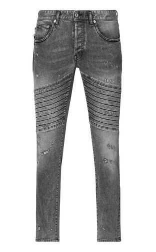 JUST CAVALLI Jeans Man Boy-fit jeans with chains f