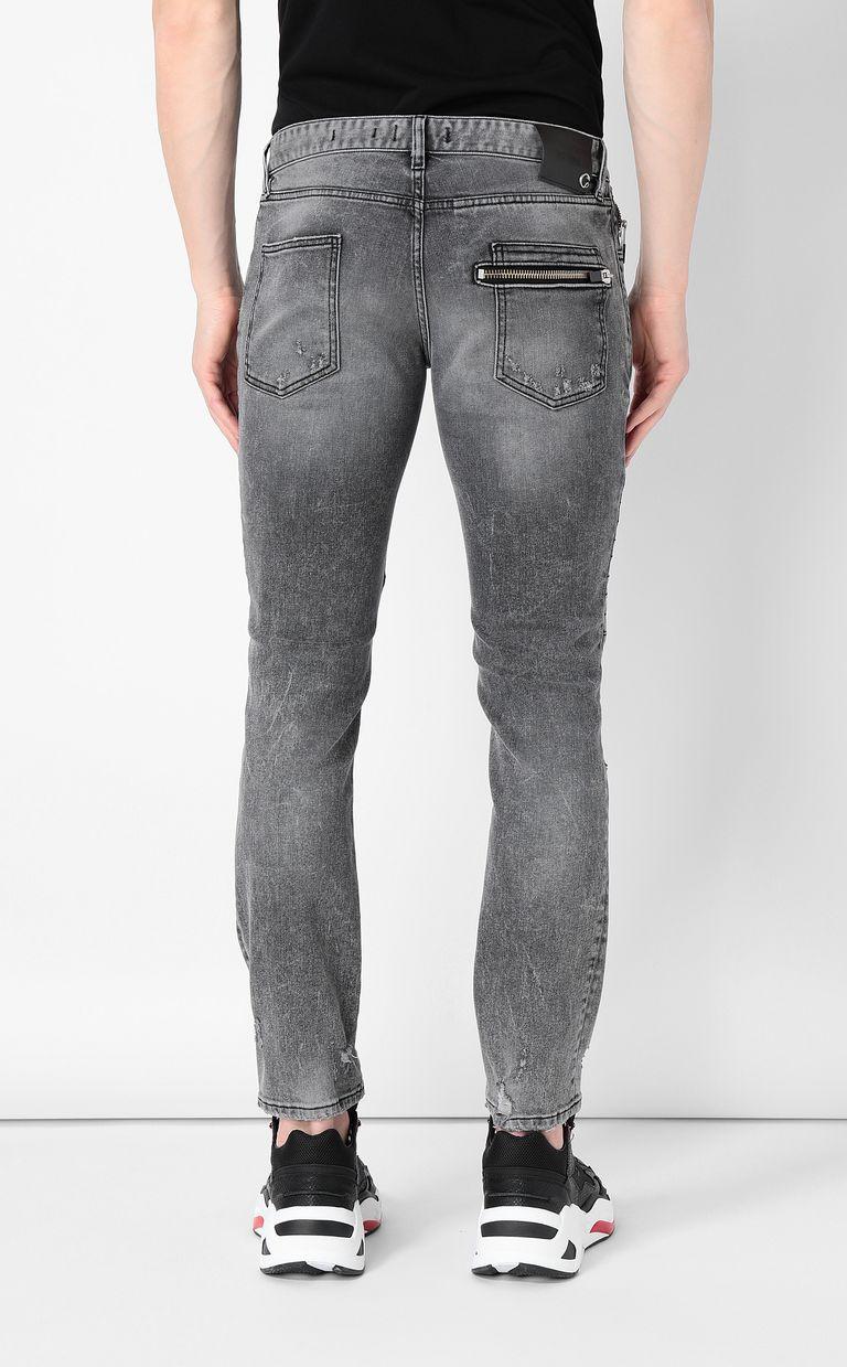 JUST CAVALLI Biker-style jeans Jeans Man a