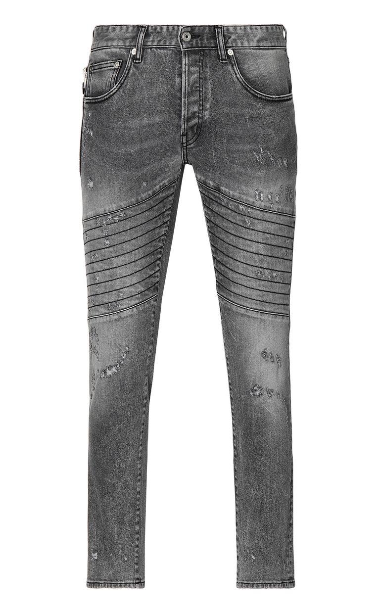 JUST CAVALLI Biker-style jeans Jeans Man f