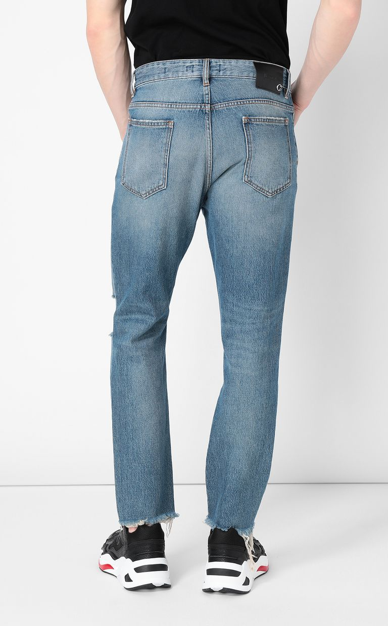 JUST CAVALLI Gabber-fit jeans with chain detail Jeans Man a