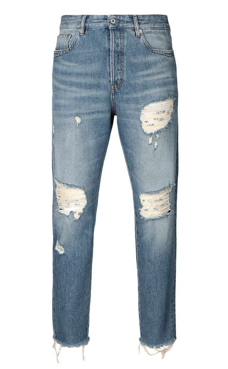JUST CAVALLI Gabber-fit jeans with chain detail Jeans Man f