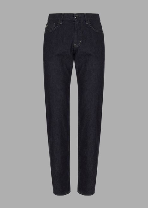 GIORGIO ARMANI Tapered Jeans Man r