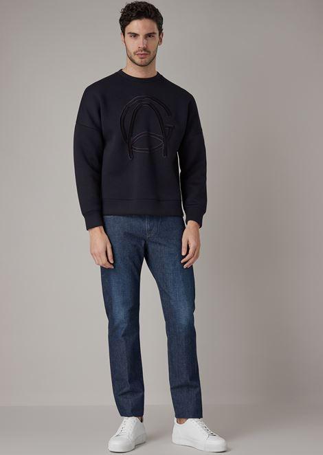 GIORGIO ARMANI Tapered Jeans Man d