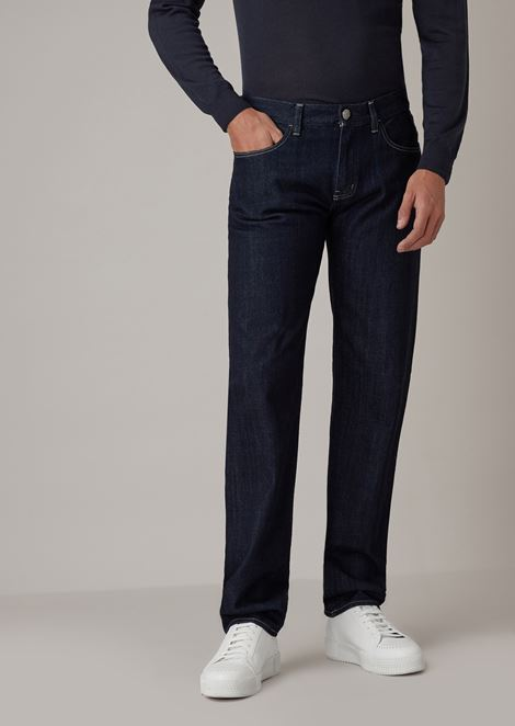 Slim-fit jeans in Zimbabwe cotton