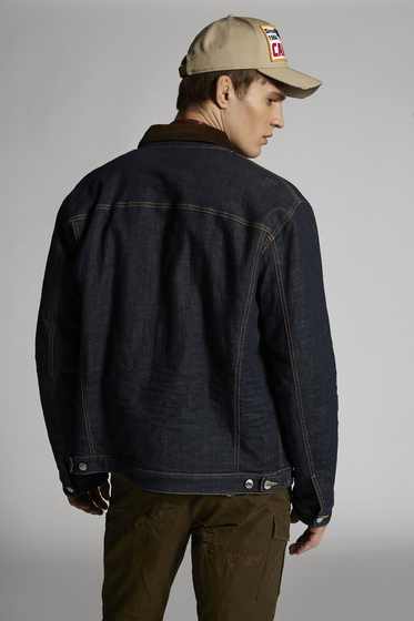 DSQUARED2 Denim outerwear Man b