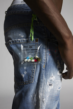 DSQUARED2 Rave On Cool Guy Jeans 5 pockets Man