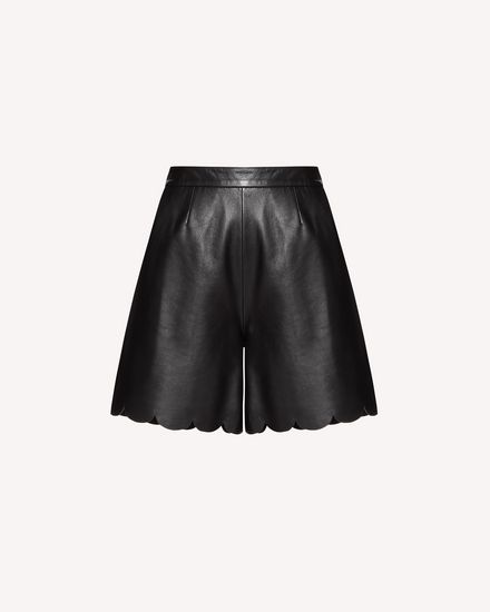 REDValentino Shorts Woman SR3NH00F4BL 0NO a