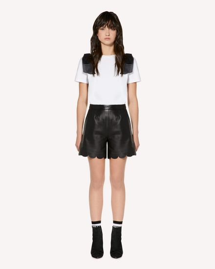 REDValentino Shorts Woman SR3NH00F4BL 0NO f
