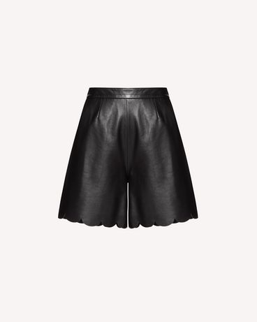 REDValentino SR3NH00F4BL 0NO Bermuda shorts Woman a