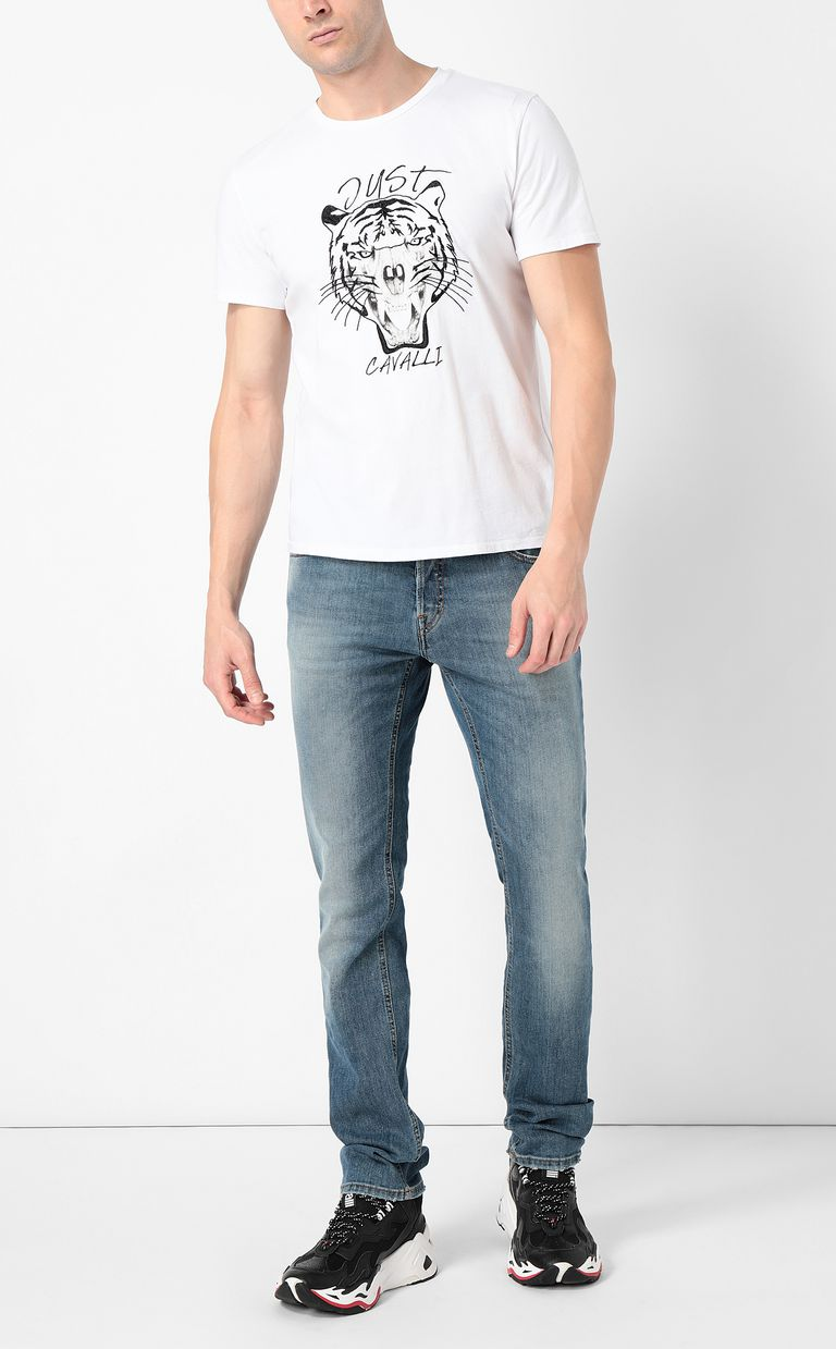 JUST CAVALLI Classic jeans with a Just Fit Jeans Man d