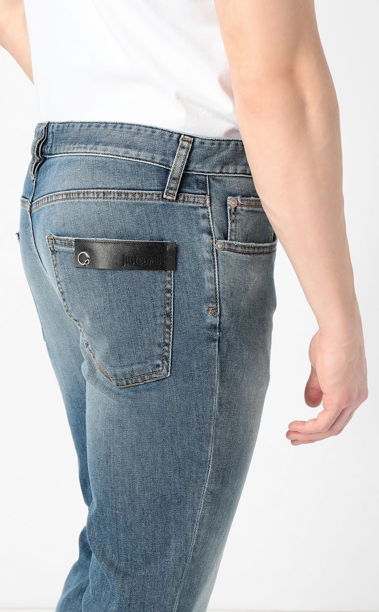 JUST CAVALLI Classic jeans with a Just Fit Jeans Man e