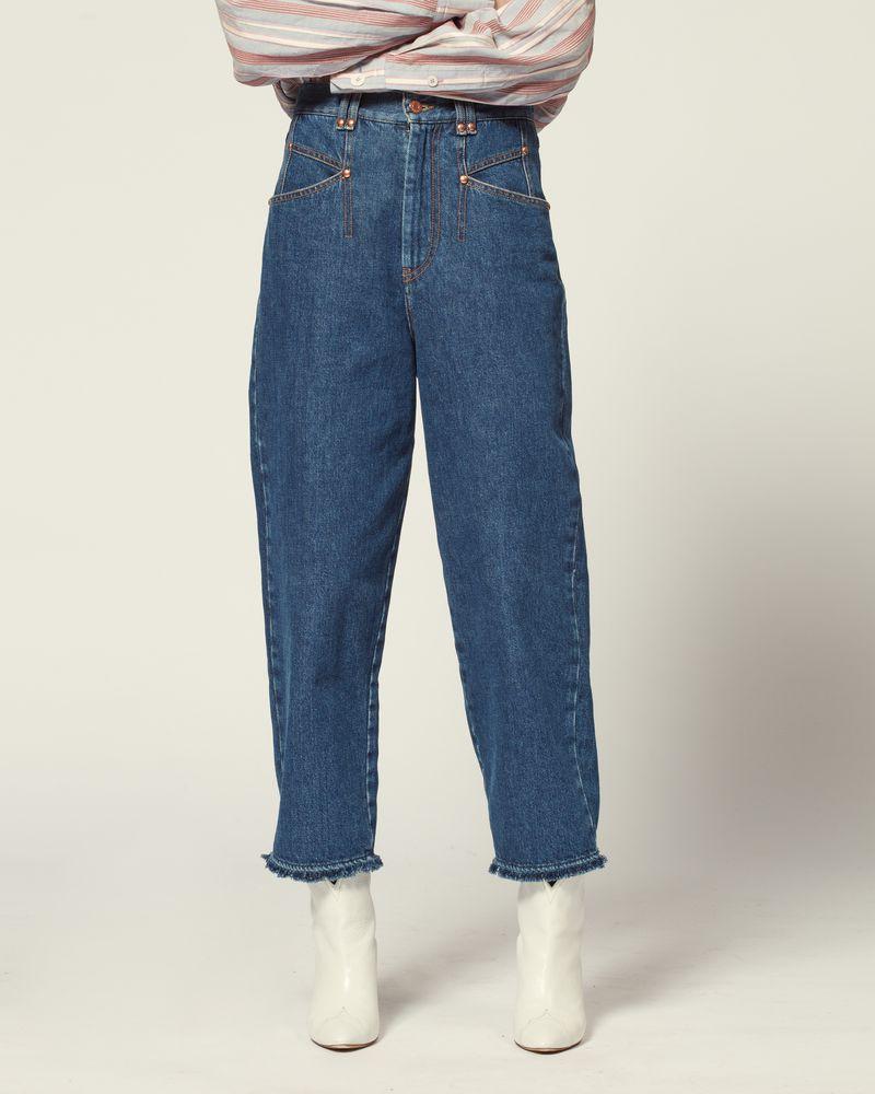 4d029f9bae36a Isabel Marant Pantalons femme - Palazzo, en cuir | E-Store officiel