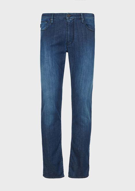 Slim-fit J06 comfort denim jeans