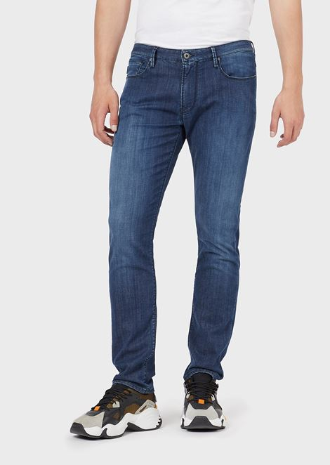 21831b5f Men's Jeans | Skinny, Regular & Loose | Emporio Armani
