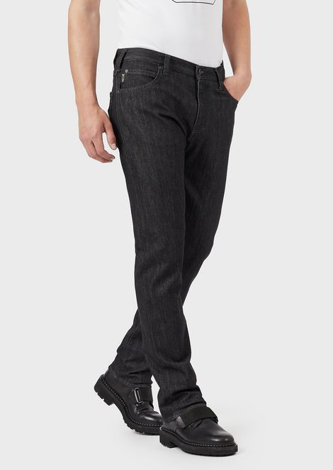 Regular-fit J45 jeans in comfort denim