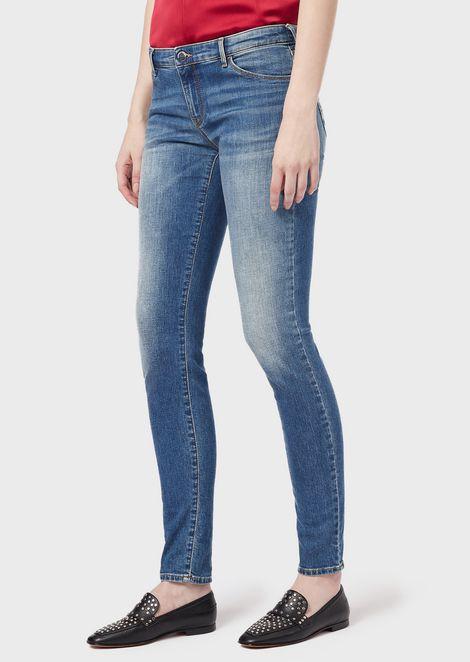 Jean J23 super skinny en denim confort vintage