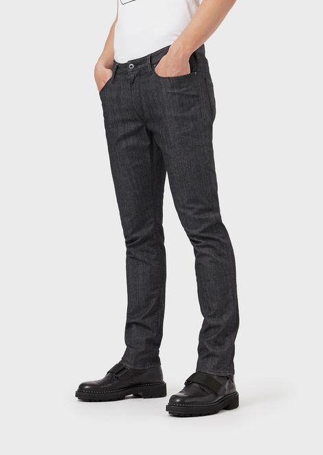 Men's Jeans | Skinny, Regular & Loose | Emporio Armani