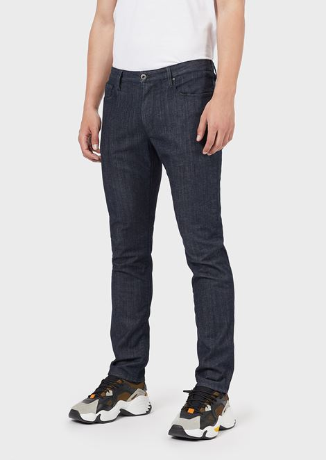 Slim-fit J06 comfort denim jeans