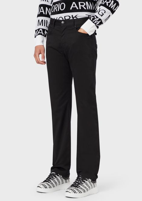 Five-pocket trousers in comfort gabardine