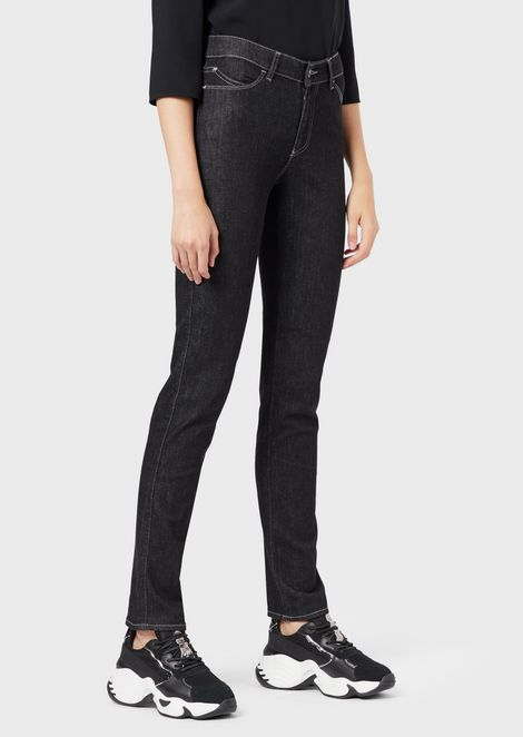 J18 super skinny jeans in stretch denim