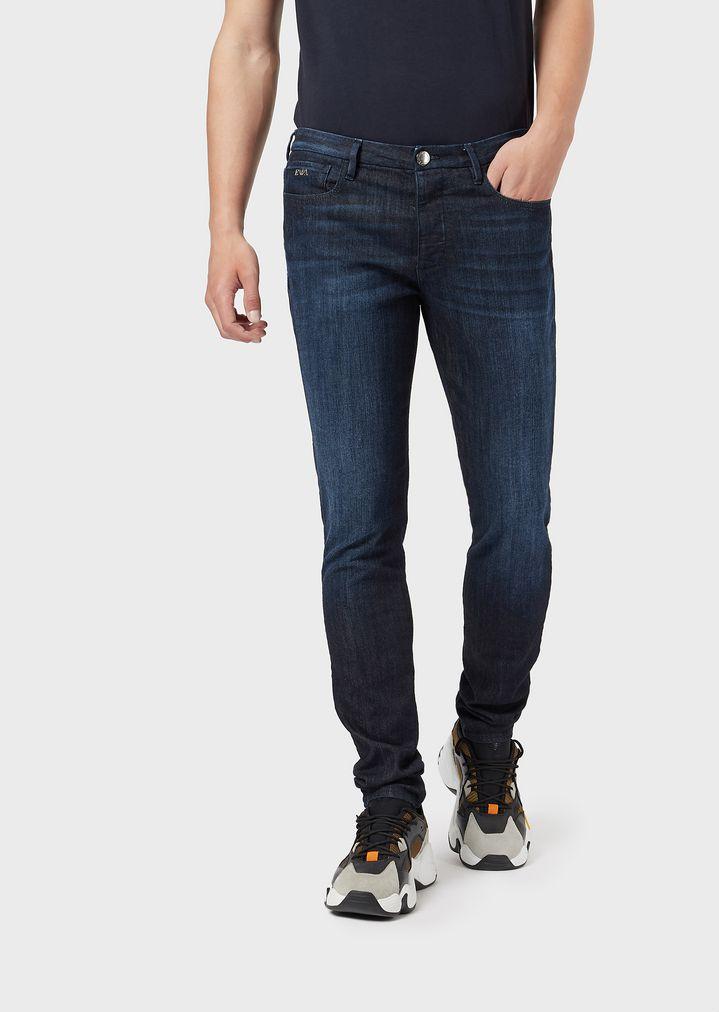 4e922e0e8a Extra-slim J11 worn denim jeans