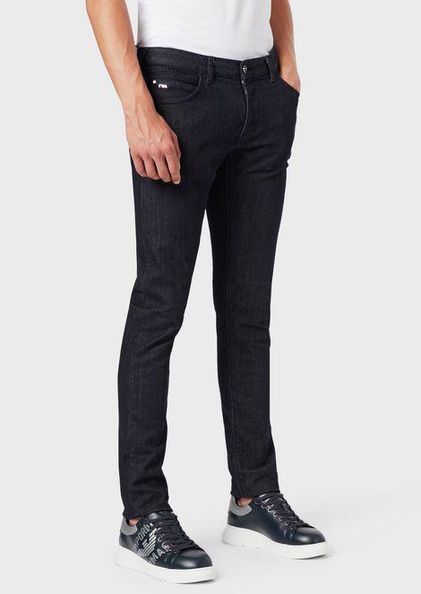 Extra-slim J10 comfort denim jeans