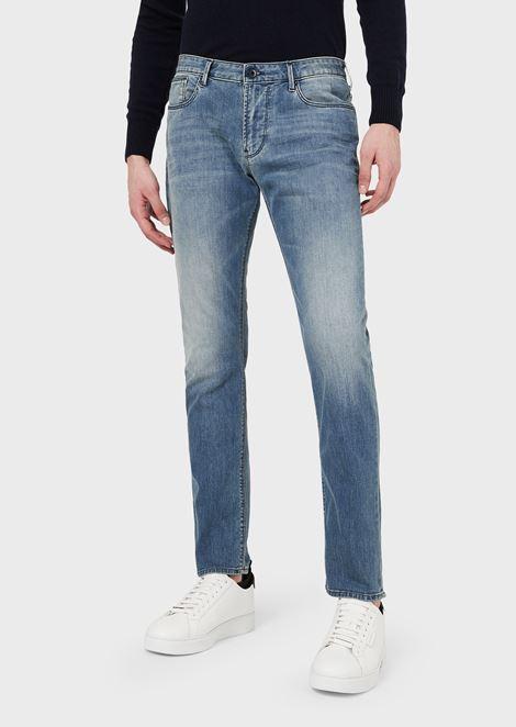 J06 弹力棉修身牛仔裤