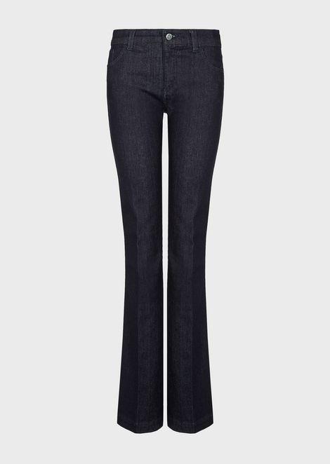 EMPORIO ARMANI Flared Jeans Woman d