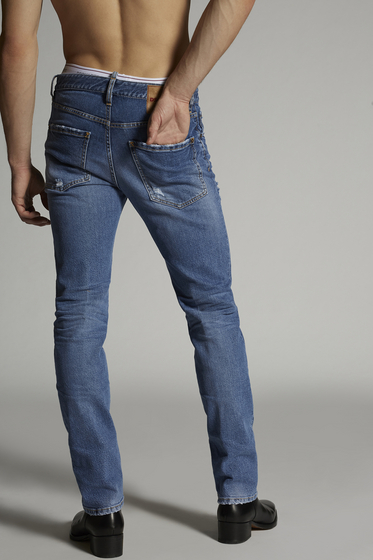 DSQUARED2 5 pockets Man S74LB0599S30309470 b
