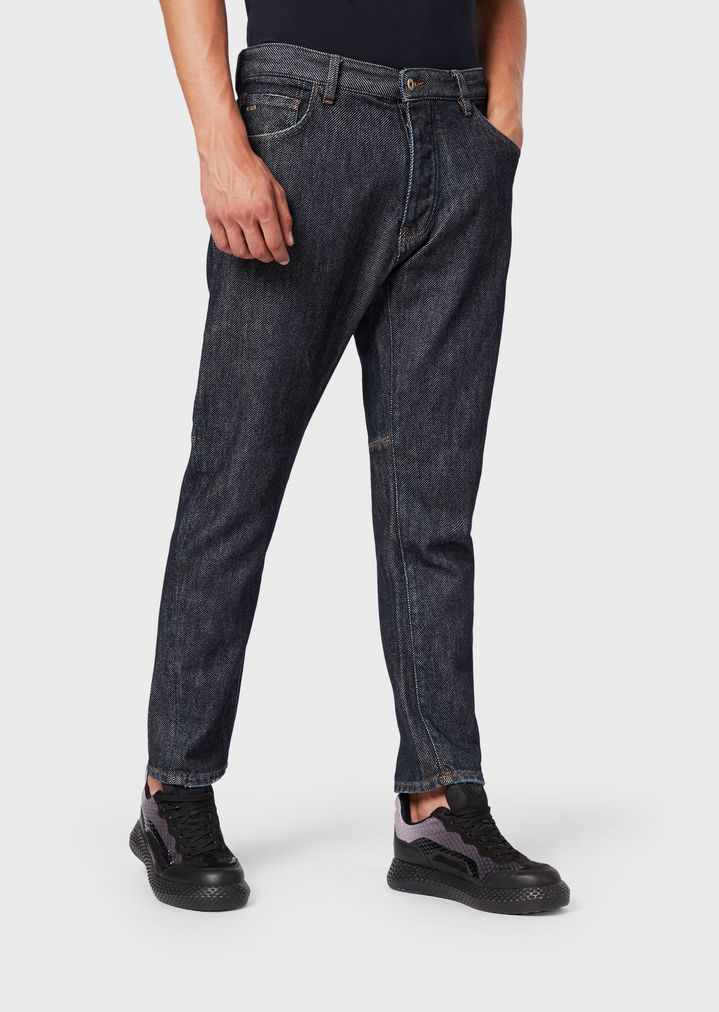 c339237811 Loose-fit J04 jeans in cotton twill