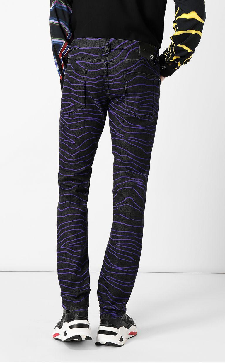 "JUST CAVALLI ""Neon Zebra"" Just-Fit jeans Jeans Man a"