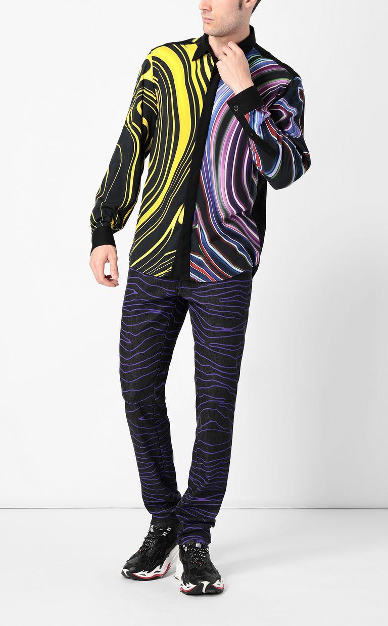 "JUST CAVALLI ""Neon Zebra"" Just-Fit jeans Jeans Man d"