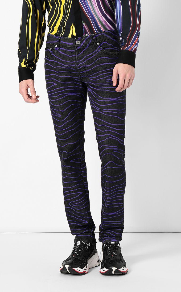 "JUST CAVALLI ""Neon Zebra"" Just-Fit jeans Jeans Man r"