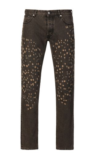JUST CAVALLI Casual trouser Man Boy-fit biker jeans f