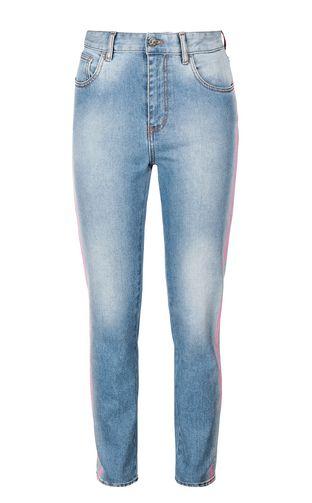 JUST CAVALLI Jeans Woman Slim-fit python-pattern jeans f