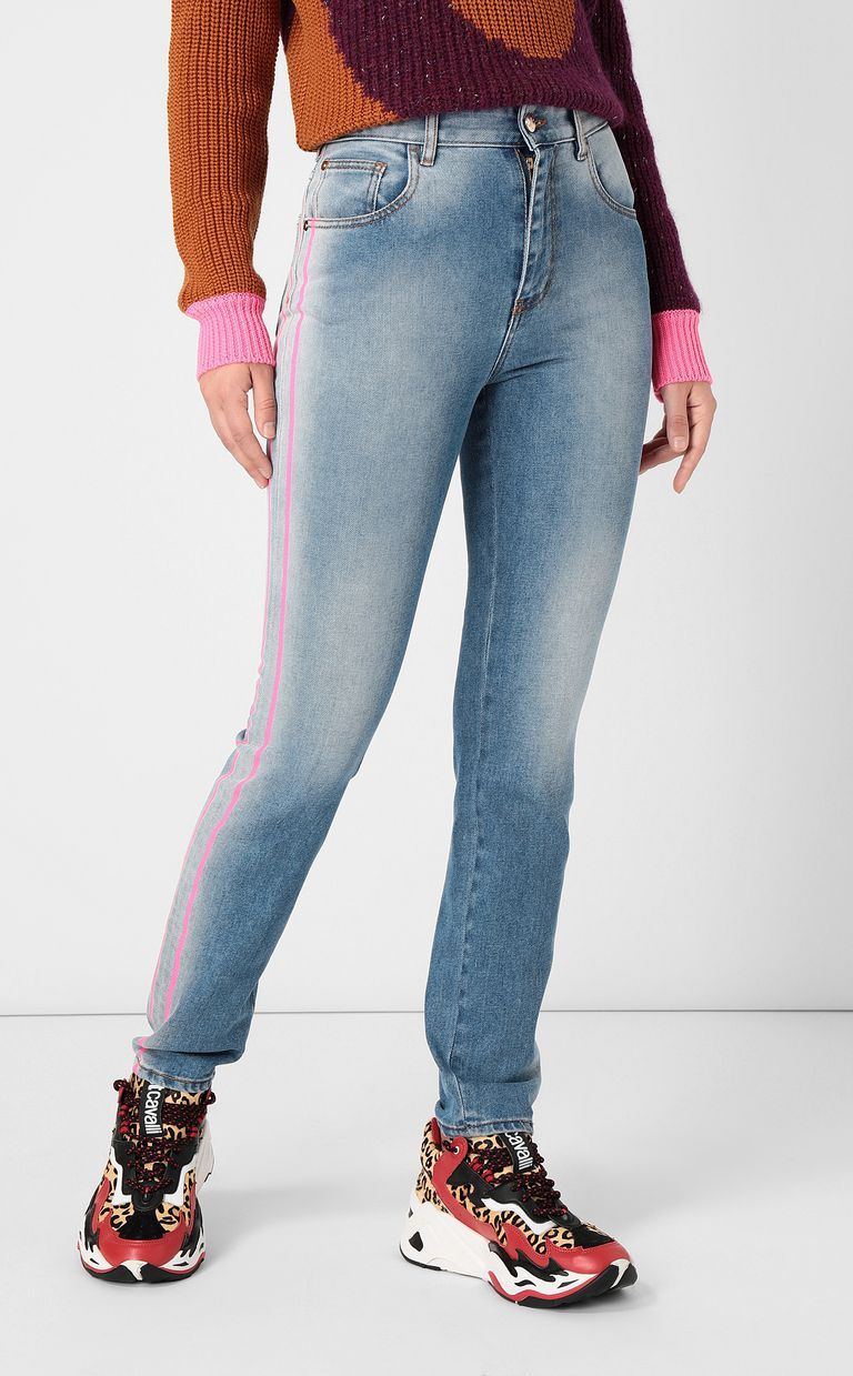 JUST CAVALLI High-rise slim-fit jeans Jeans Woman r