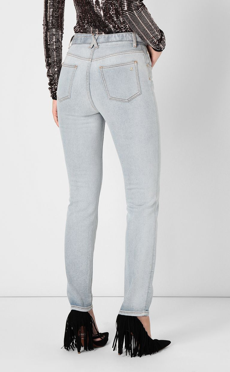 JUST CAVALLI High-rise jeans with belt Jeans Woman a
