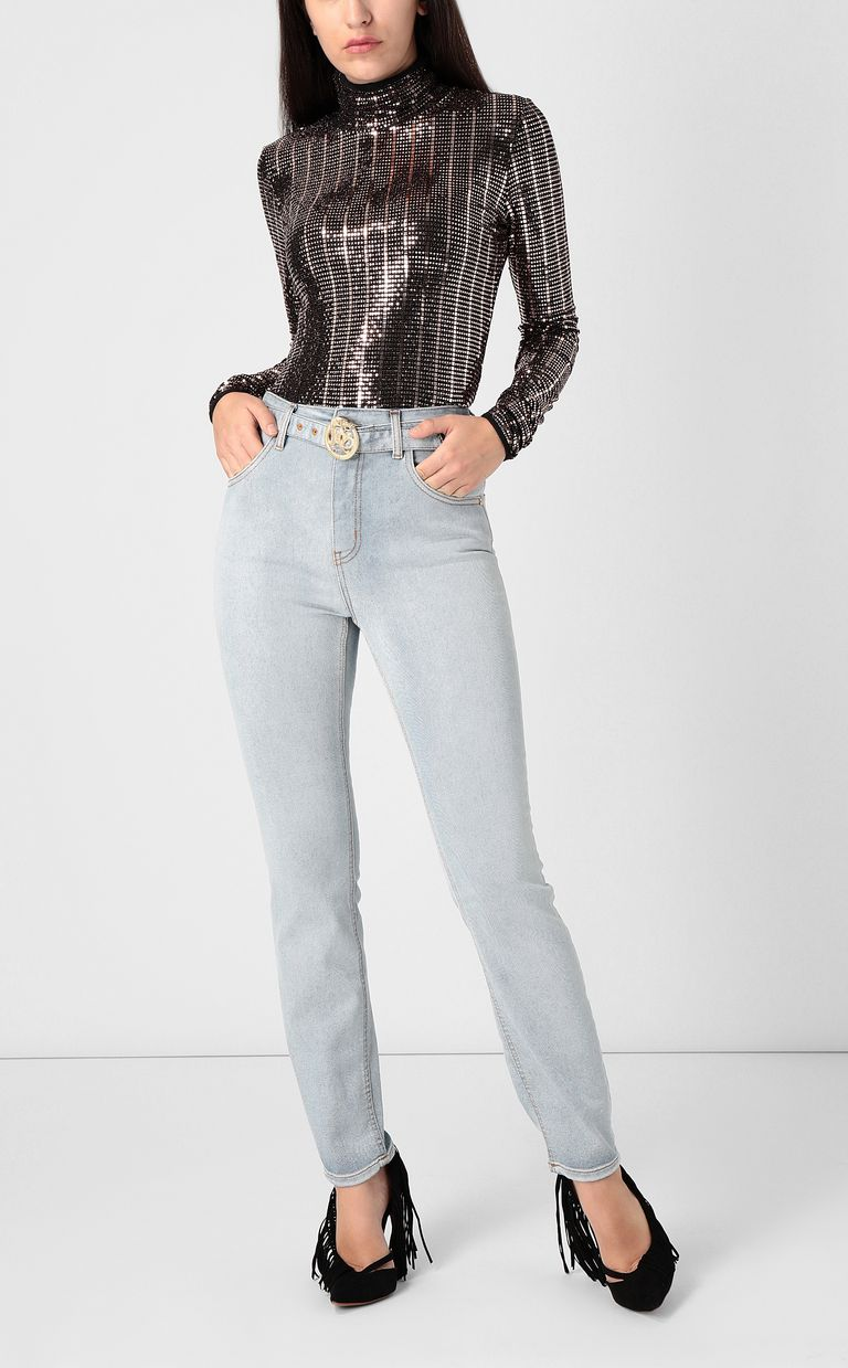 JUST CAVALLI High-rise jeans with belt Jeans Woman d