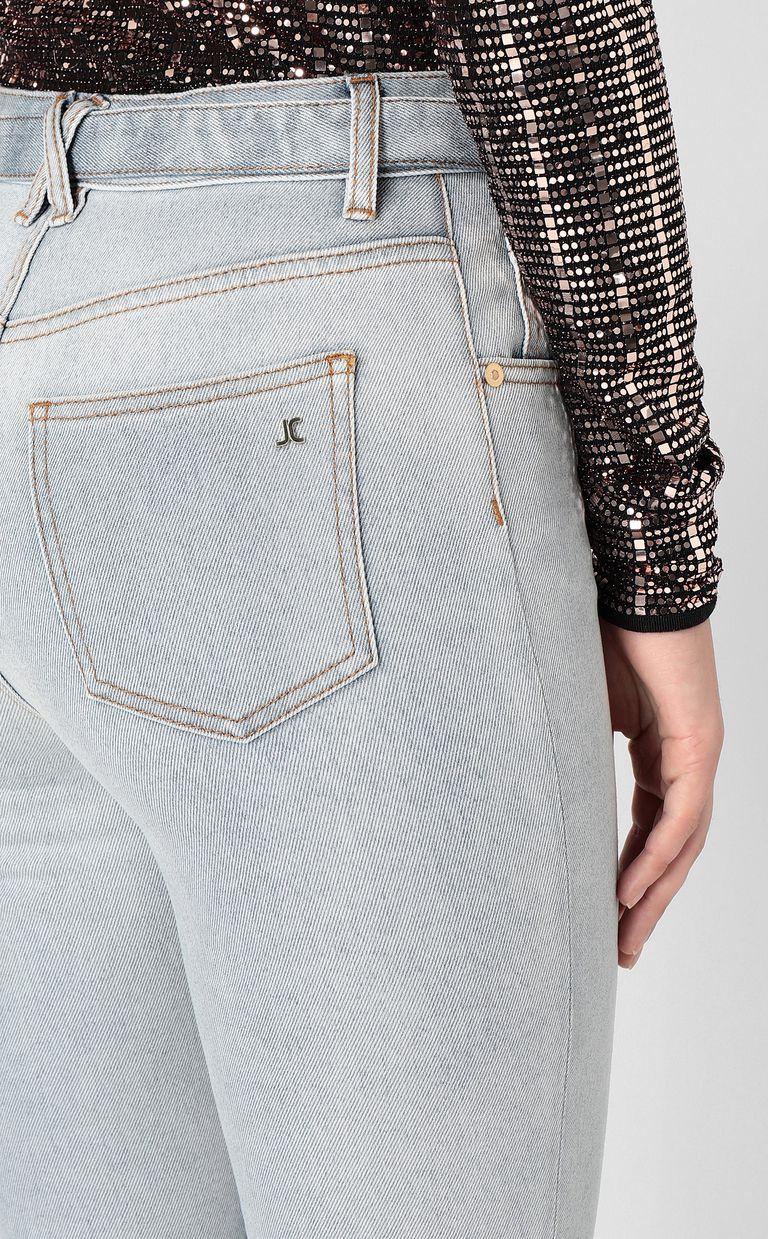 JUST CAVALLI High-rise jeans with belt Jeans Woman e