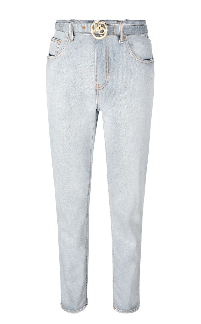 JUST CAVALLI High-rise jeans with belt Jeans Woman f