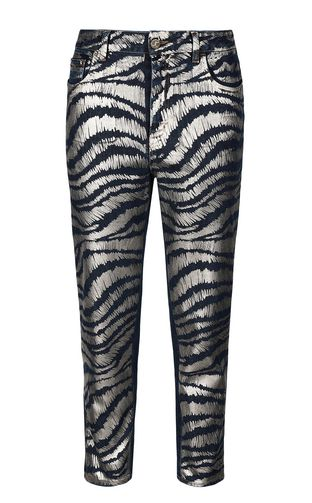JUST CAVALLI Jeans Woman Slim-fit python-pattern jeans f