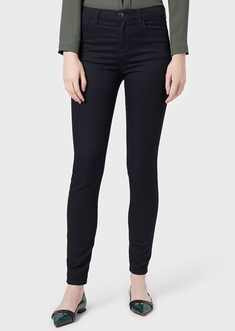 J20 super skinny jeans in stretch denim