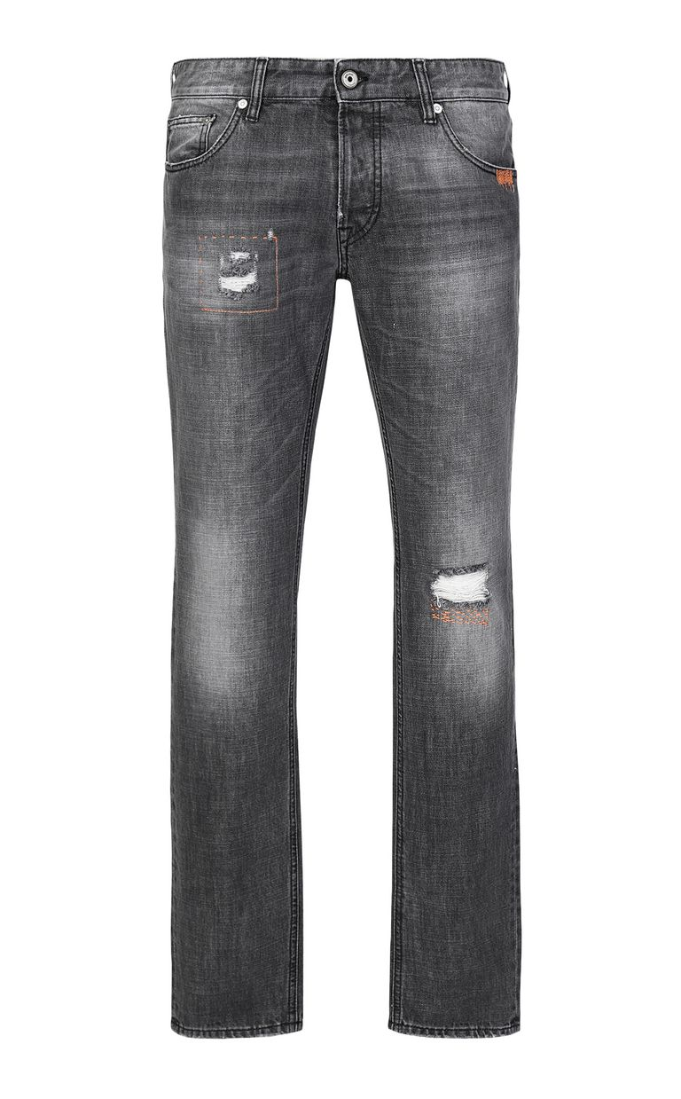 JUST CAVALLI Tiger jeans with a Just Fit Jeans Man f